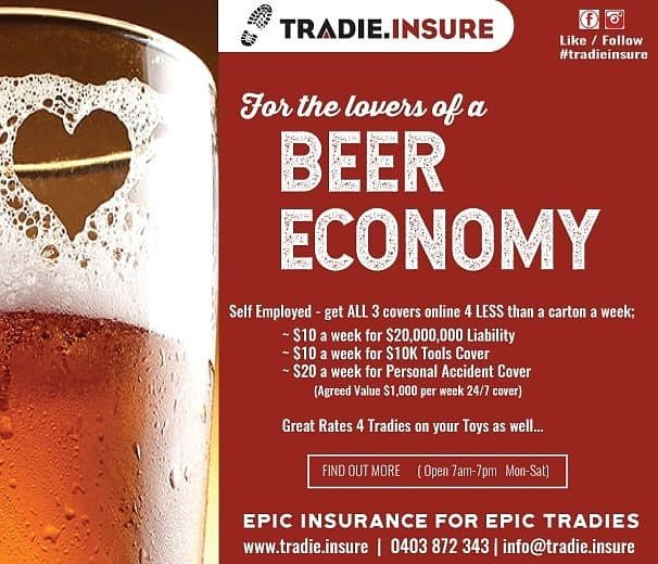 Tradie Insure Epic Insurance For Epic Tradies Www Tradie Insure
