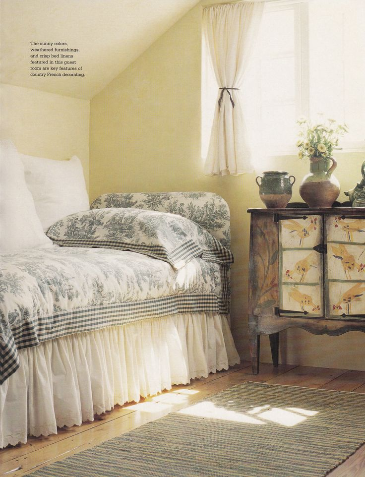 country french decorating by better homes gardens spring summer 2006