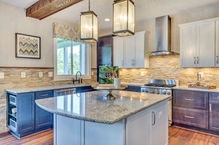 Beautiful Kitchen At Foothill Crossing Stanley Martin