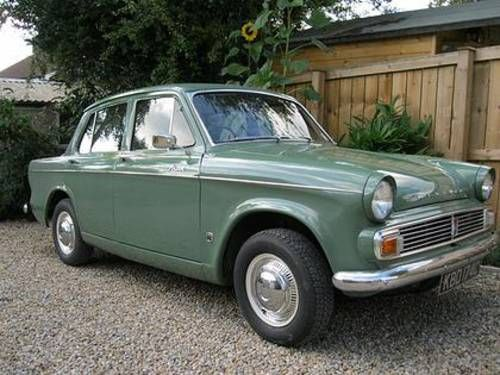 .... to this, the final Series VI, from 1965, with 1725cc engine, deletion of over-riders and primarily single tone paint. From Series V onwards the convertible and estate versions were no longer available