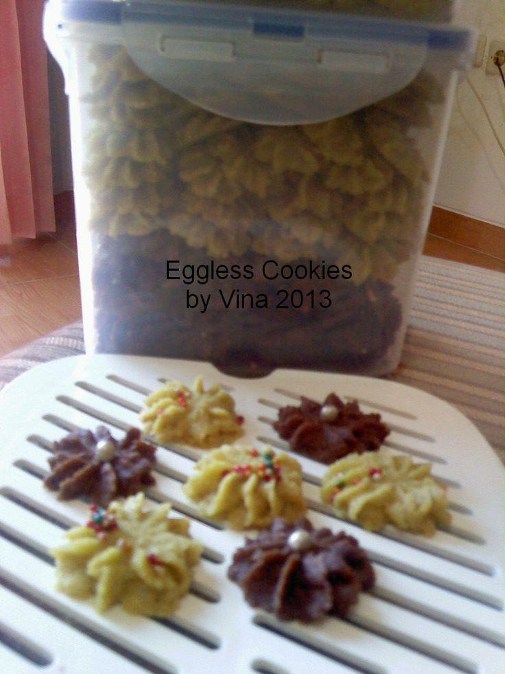 Eggless Cookies  http://dapoervina.blogspot.com/2013/07/eggless-cookies.html