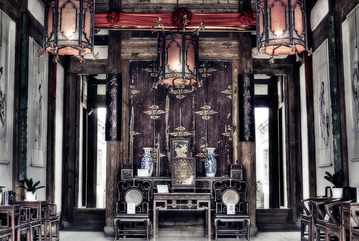 Jack stott from asian china fuzhou ancient interior - Sfeer zen lounge ...