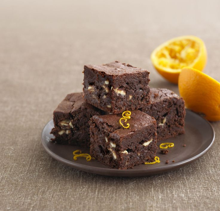 Blitz a batch of brownies with a hint of orange zest for a gooey-chocolatey treat.