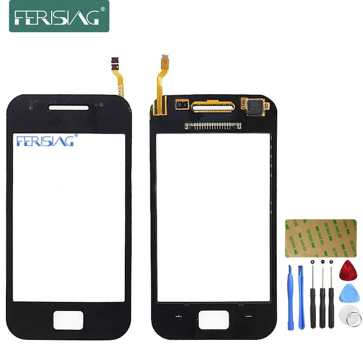 Ferising AAA 100% Touch Screen For Samsung Galaxy Ace S5830i GT-S5830i Touch Panel Sensor Digitizer Replacement Glass+Tools kit #Affiliate