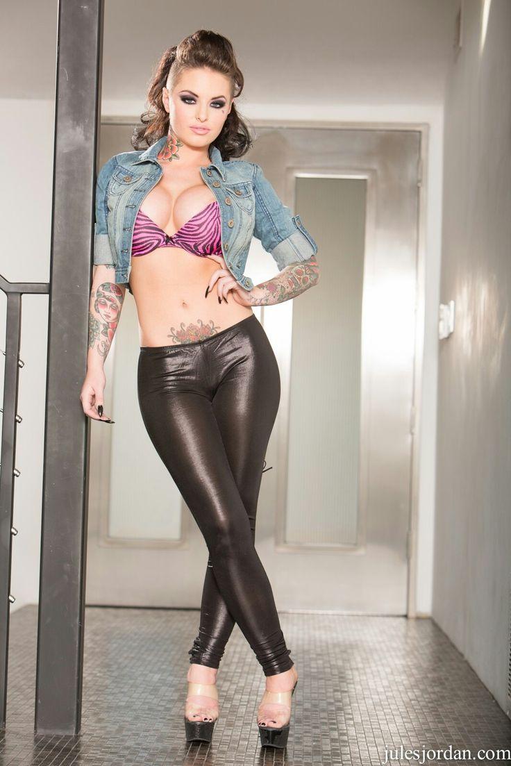 Christy Mack Black spandex pants