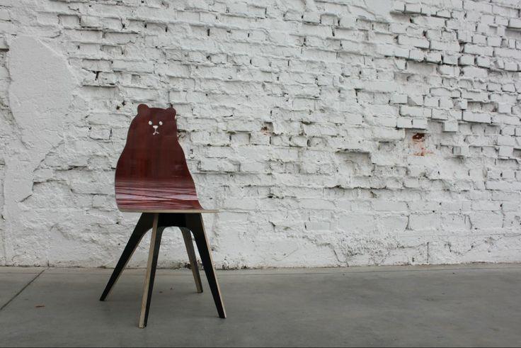 Krzesło Miś. Fot. Tu Patrz! Wzorcownia
