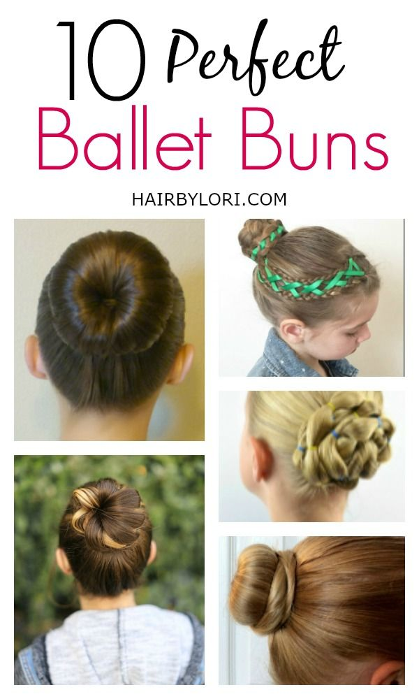 10 Perfect Ballet Buns for a recital, formal event, or an everyday updo.