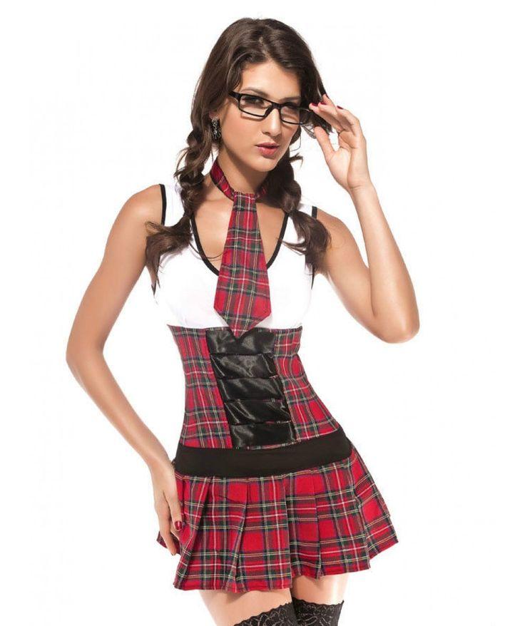 Halloween Costume Chola Porn - Sexy Class President Costume