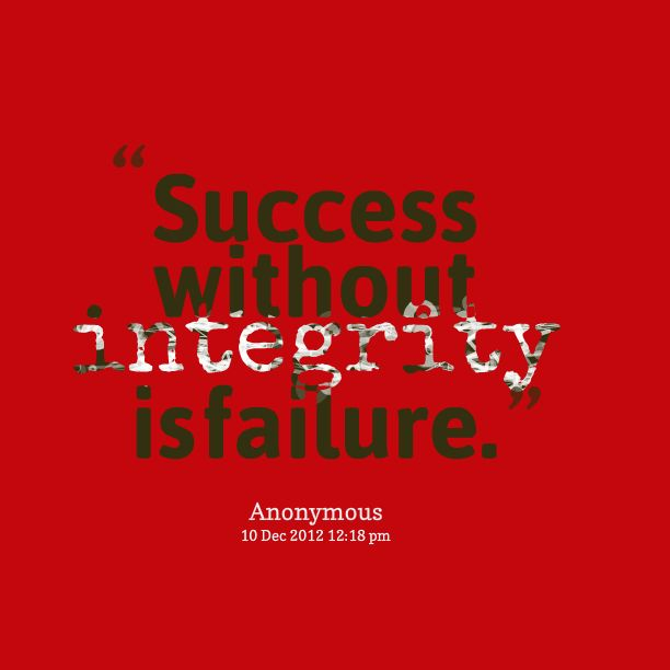 quotes about integrity | Inspirably / Quotes / Kristjan ...