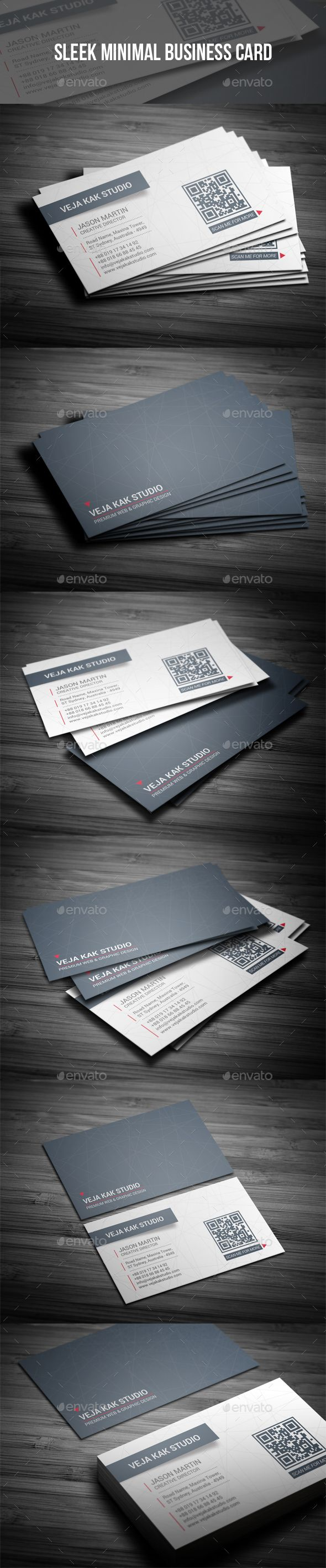The 25 best minimal business card ideas on pinterest black sleek minimal business card reheart Images