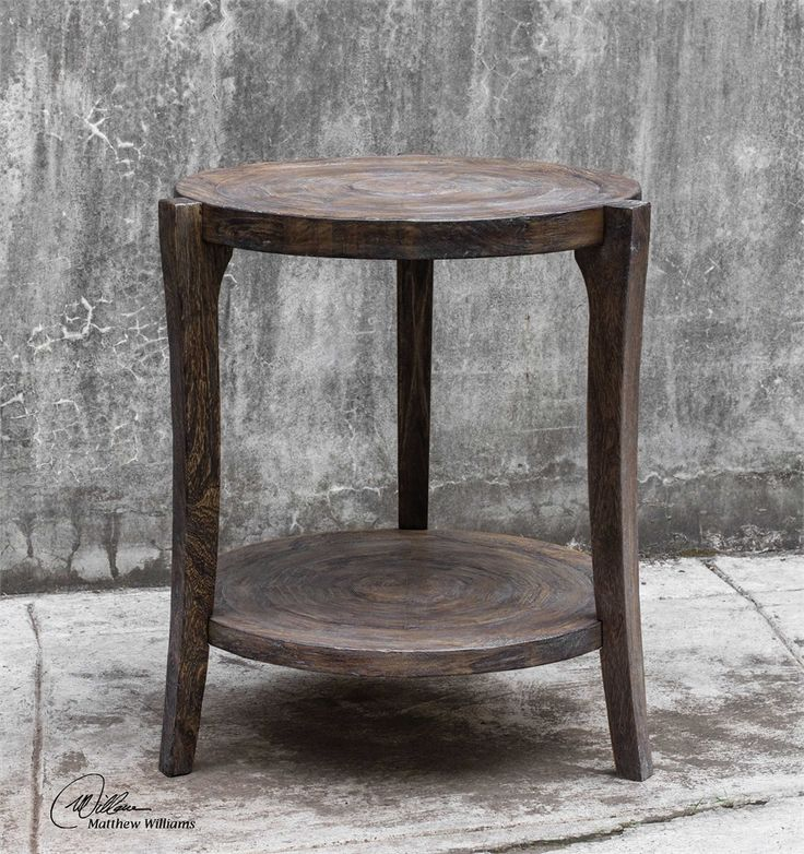 Uttermost Pias Rustic Accent Table