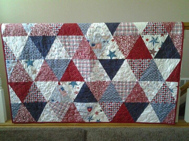 "Patriotic Quilt.  ""Love, love, love this!"" I this the subtlety of this one. Cjj"