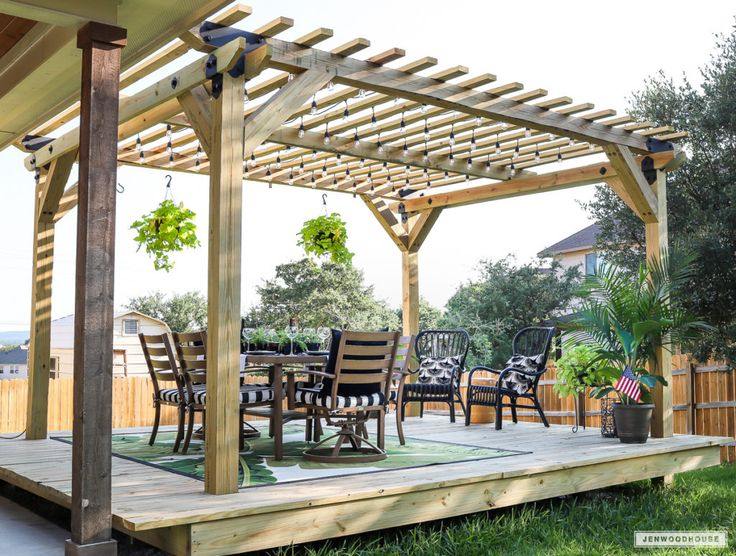 Superb DIY: You Can Have A Cool Floating Deck: Part 1