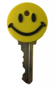 Smiley Face Key