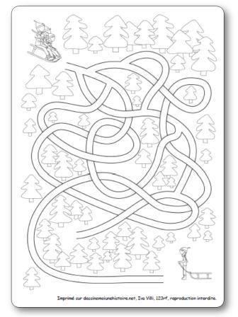 Labyrinthe Luge