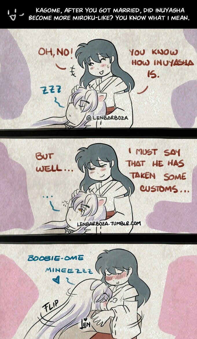 Naughty Question Miroku Like Inuyasha Funny Inuyasha Kagome And Inuyasha