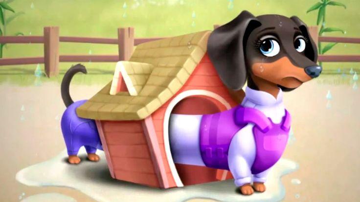 Мультики про животных Лечим собачку и зверят Мультфильмы для девочек Fun...