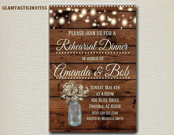2612 best Rehearsal Dinner Invitations images on Pinterest - printable dinner invitations
