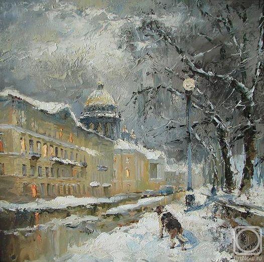 Шевчук Светлана - Зимний день. Санкт-Петербург