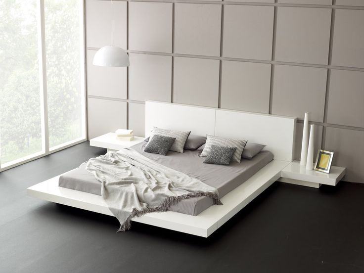 while low beds are famously associated with japanese design theyre beginning to catch - Modern Designs For Bedrooms