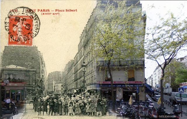 Julien Knez, Parigi, 1900 e 2016