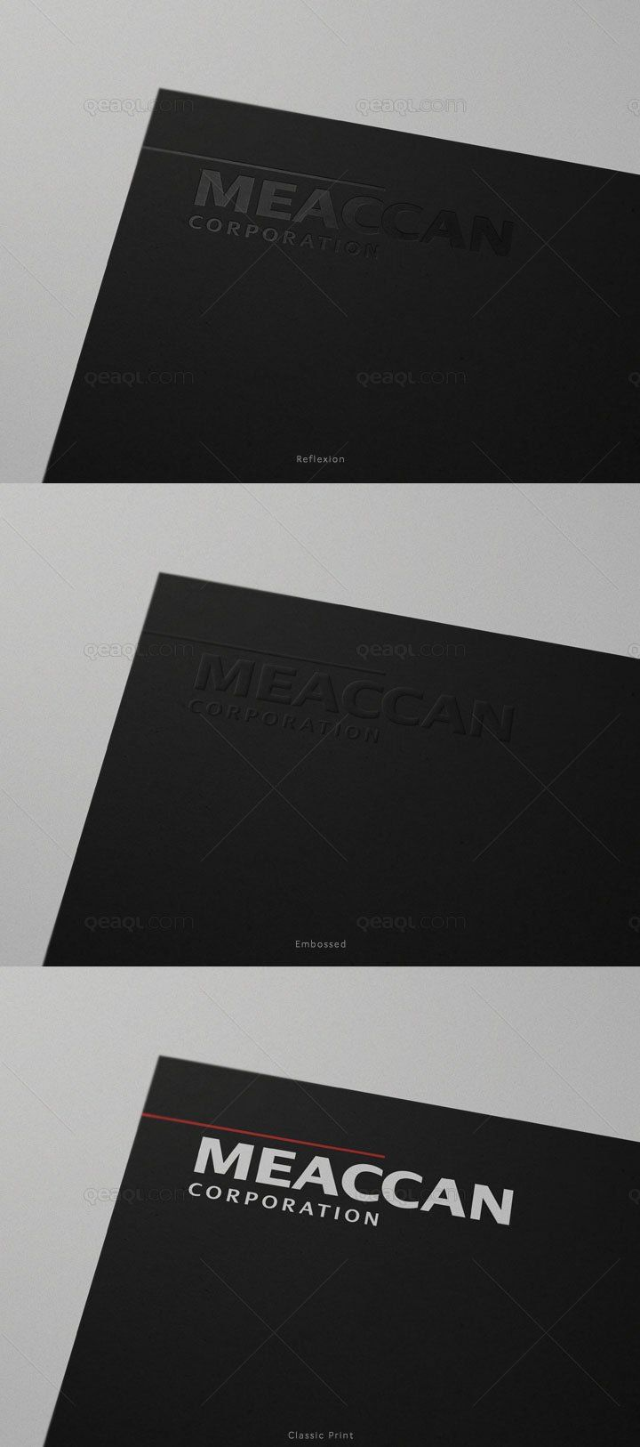 874fa76ac79 Free mockup of a logo in a black paper. Download this psd from the original  source of Qeaql. Amaze your fellow designers and add your own design into  this ...