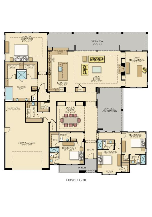 76 Best Images About 2 500 3 000 Sq Ft On Pinterest