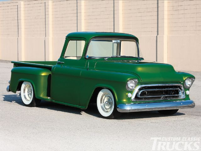 1956 Chevy Truck - Emerald Beauty