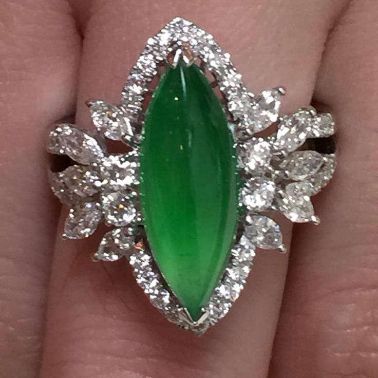 #jadelite diamond ring#jade #jadelite #jadering #gem #luxury #jewelery #jewellery #luxuryring