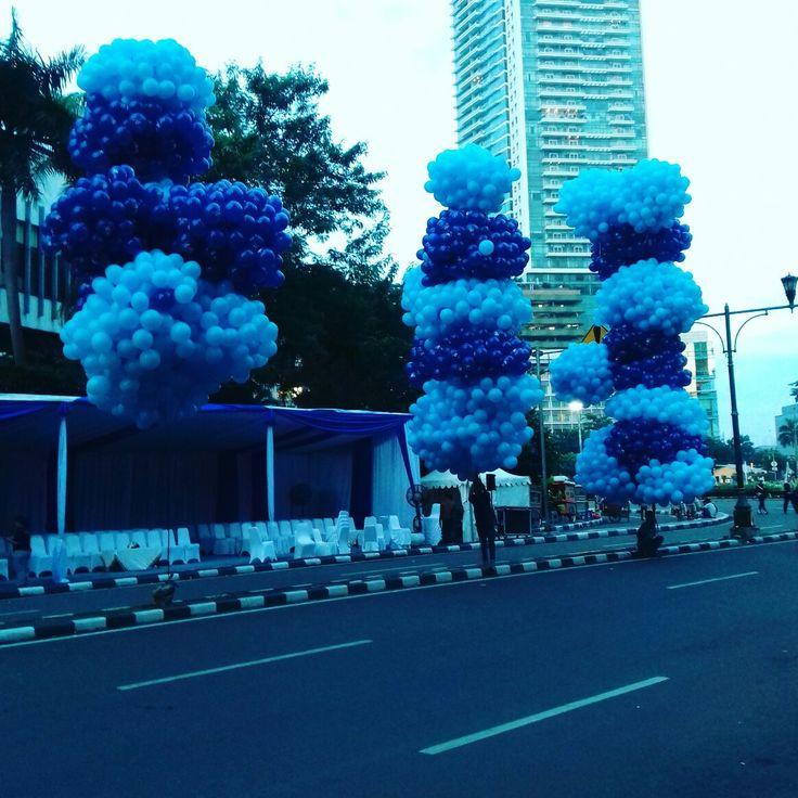 Jual Balon gas untuk pelepasan , ulang tahun , wedding dll