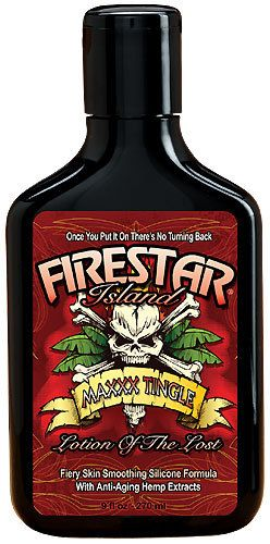 Firestar Island Tingle Tanning Lotion 9oz