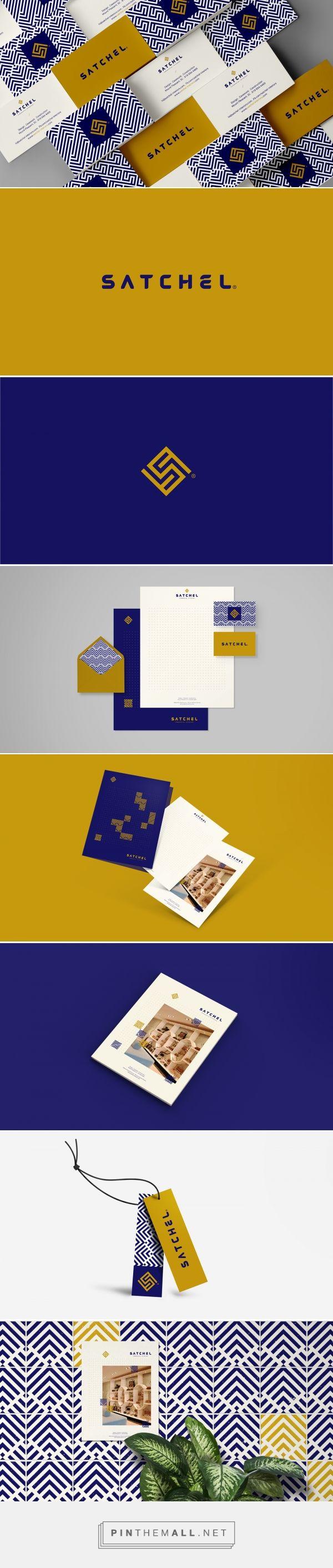 Satchel Interior Design Branding by Roberto Melendrez | Fivestar Branding Agency – Design and Branding Agency & Curated Inspiration Gallery