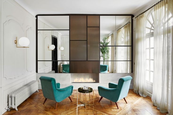A Classic Parisian Apartment That Blends Old and New Photos | Architectural Digest