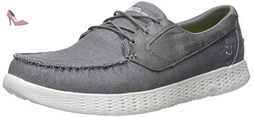 Skechers On The Go Glide Charcoal 53770CHAR, Chaussures bateau - 43 EU - Chaussures skechers (*Partner-Link)