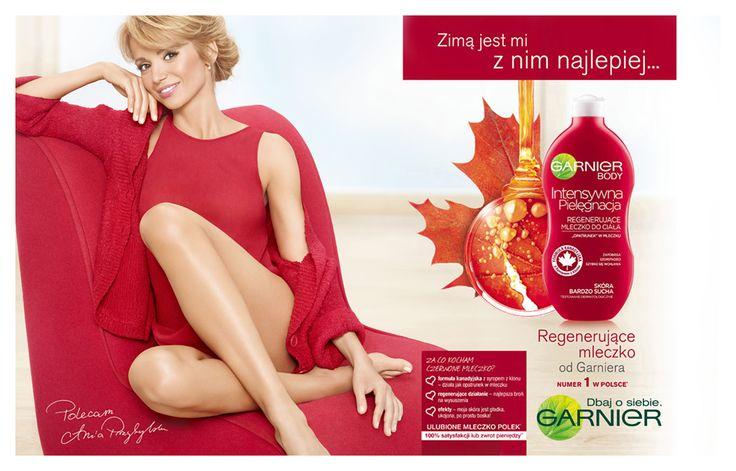 Garnier Body, featuring Ania Przybylska