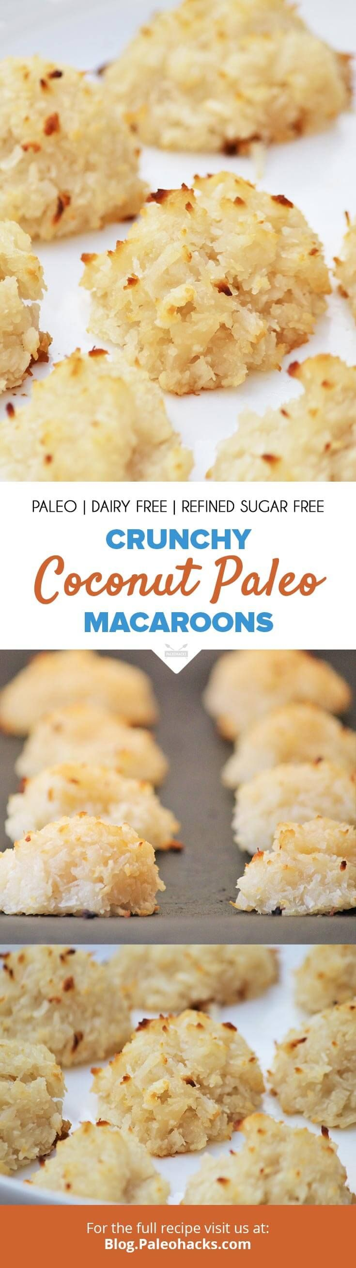 Let the sweet aroma capture your senses with these Paleo Coconut Macaroons. Get the full recipe here:  http://paleo.co/paleomacaroons