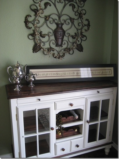 A Refinished Buffet