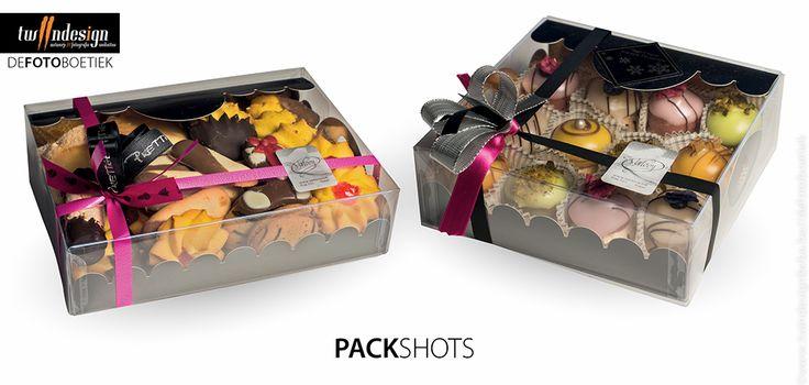 Packshots pralines in verpakking voor onze klant Bakkerij Verlooy in Geel @ De Fotoboetiek  www.twindesignbvba.be
