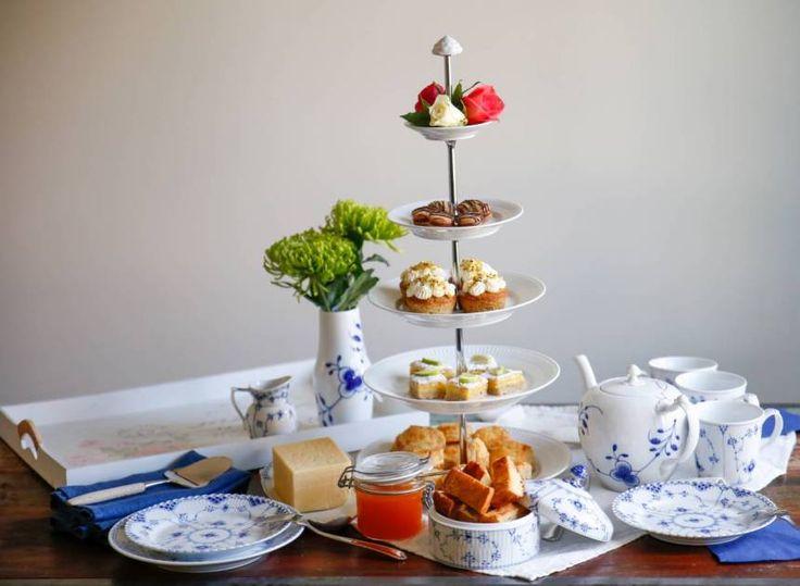 afternoon tea Fredriks Fika