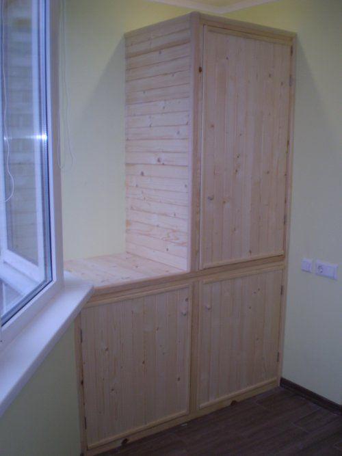 Шкаф на балкон купить Киев или заказать. | Столярный блог.