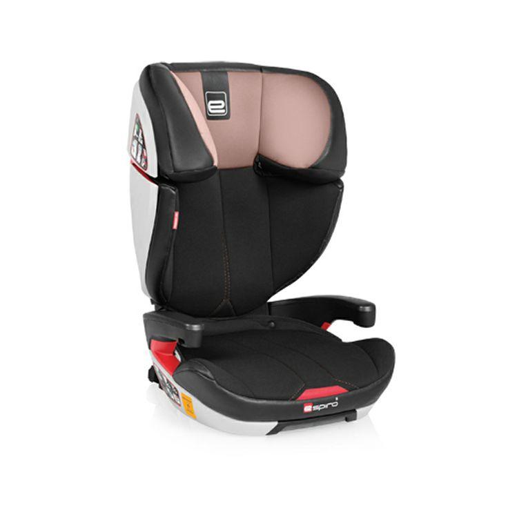 Ninio.ro va pune la dispozitie pentru achizitionare: Scaunul auto Espiro Omega, este un scaun auto de o calitate superioara si un design premium si modern. Acest scaun este recomandat copiilor cu greutati cuprinse intre 15 si 36 de kilograme. Scaunul auto Espiro Omega este  un scaun spatios, dotat cu tetiera reglabila cu reductor si protectie pe partile laterale. Scaunul poate fi folosit si ca inaltator daca i se inlatura spatarul.