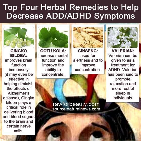 add adult herbal remedy