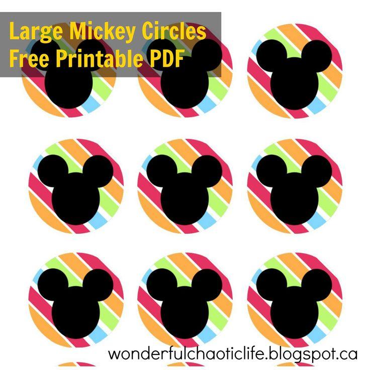 Mickey FREE PRINTABLES