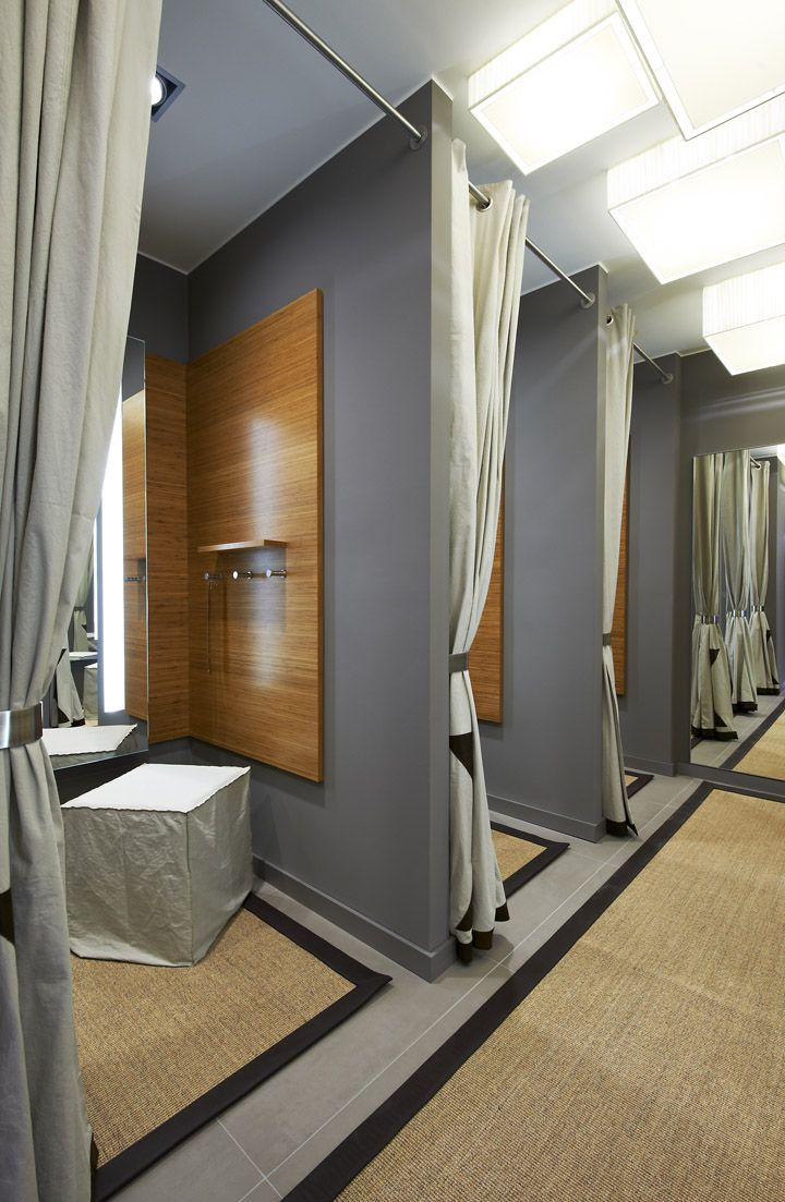 Fitting rooms a collection of ideas to try about other for Boutique room design