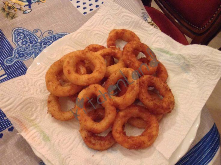 #anelli di #cipolla #pastellati #ricette #ricettefacili #ricettadelgiorno #cucina #cucinaitaliana #food #foodphotography #italianfood #cooking #antipasti