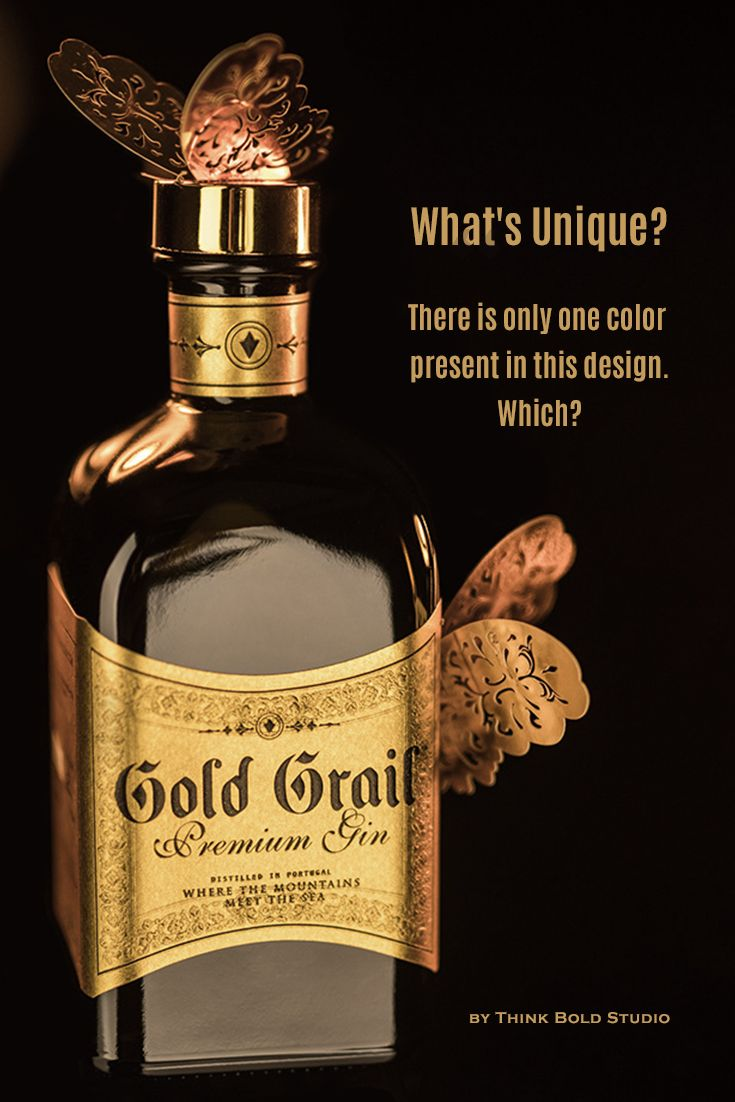 Gold Grail Gin is a Premium Gin that recently gained a new look by collaborating with Think Bold Studio. The gin is quite something, it invests in a 100% handmade manufacturing process for the perfect consolidation of the distillate.