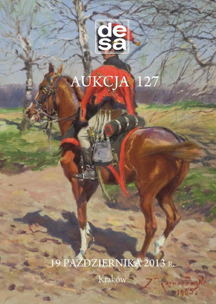Zygmunt Rozwadowski - Katalog aukcji 127 DESA Malarstwo, rysunek, grafika, rzemiosło artystyczne