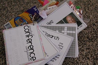 """General Conference """"mini"""" packets! Love these. I think the girl would enjoy these and they'd be easy to put together :)"""