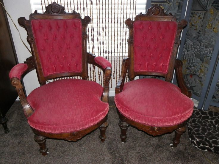 Elegant Antique His Hers Parlor Chairs Renaissance Revival Told John  Jelliff | eBay - 177 Best Chairs Images On Pinterest Charlotte, Aqua And Crafts