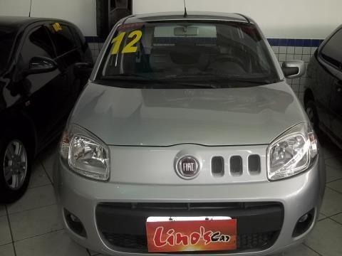 webSeminovos | Fiat Uno Evo Vivace 1.0 8V Prata 2011/2012